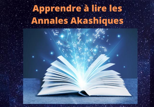 apprendre lire annales akashiques